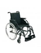 Различни модели рингови и акумулаторни инвалидни колички, инвалидни колички с чужда помощ, сваляеми подлакътници и различна ширина на количката. Електрически скутери, акумулаторни батерии за инвалидни колички